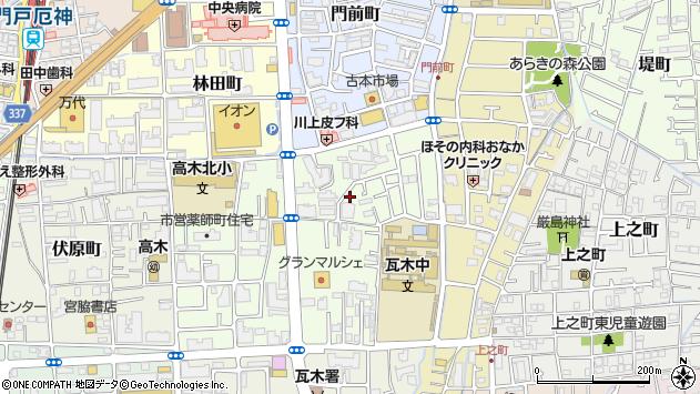 〒663-8024 兵庫県西宮市薬師町の地図