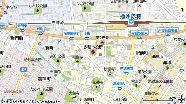 〒678-0200 兵庫県赤穂市(以下に掲載がない場合)の地図
