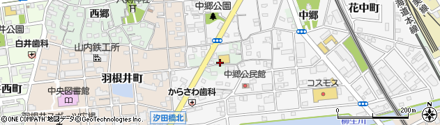 愛知県豊橋市花田町(後田)周辺の地図