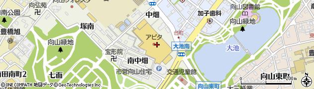DON・UDONほなみ周辺の地図