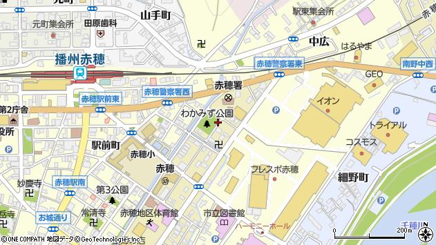 〒678-0233 兵庫県赤穂市加里屋中洲の地図