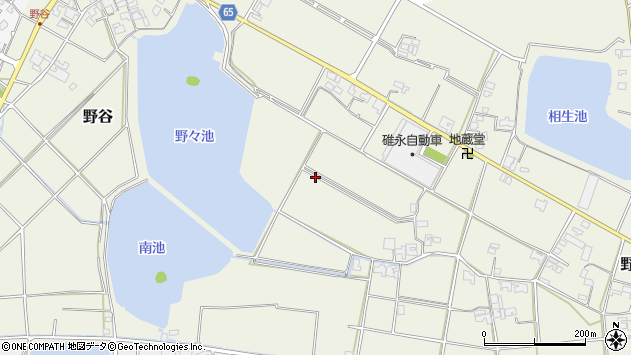 〒675-1103 兵庫県加古郡稲美町野谷の地図