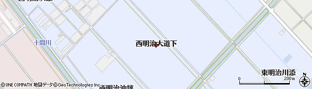 愛知県豊橋市牟呂町(西明治大道下)周辺の地図