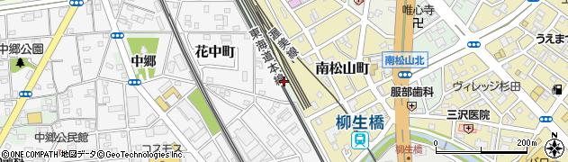 愛知県豊橋市花田町(塞神)周辺の地図
