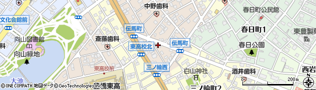 BEAUTE周辺の地図