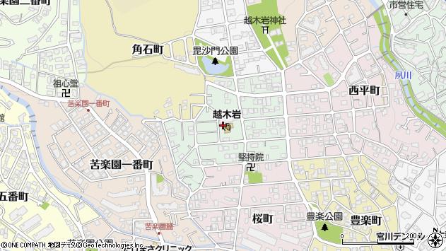 〒662-0095 兵庫県西宮市美作町の地図