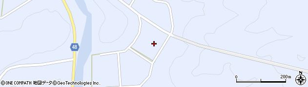 島根県浜田市三隅町河内(上河内)周辺の地図