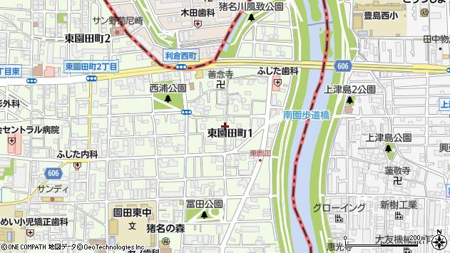 〒661-0953 兵庫県尼崎市東園田町の地図