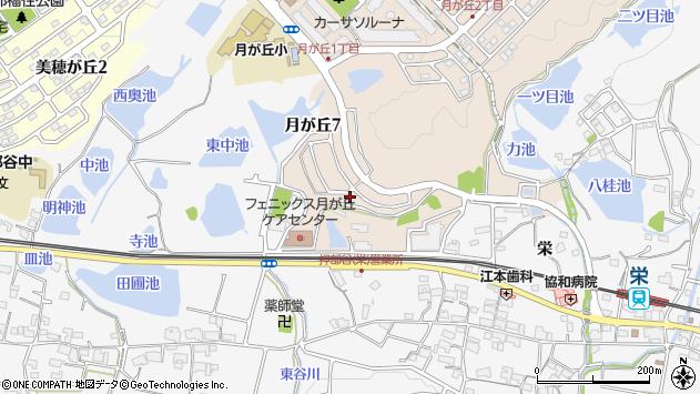 〒651-2217 兵庫県神戸市西区月が丘の地図
