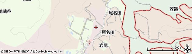 京都府木津川市加茂町兎並(於名田)周辺の地図