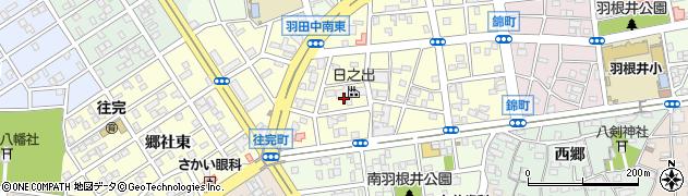 愛知県豊橋市往完町(往還東)周辺の地図