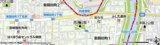 船詰神社周辺の地図