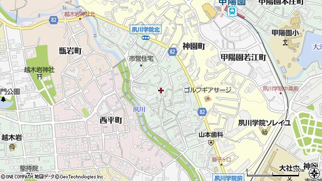 〒662-0026 兵庫県西宮市獅子ケ口町の地図