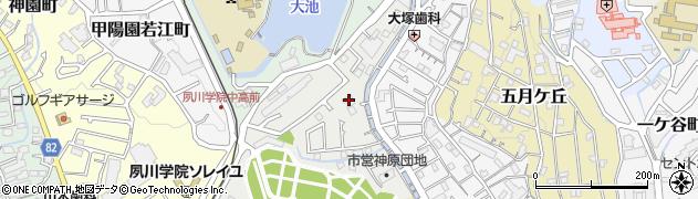 知法院周辺の地図