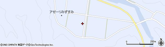 島根県浜田市三隅町河内(下河内)周辺の地図