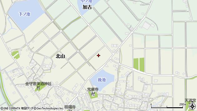 〒675-1121 兵庫県加古郡稲美町北山の地図