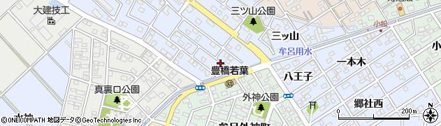 愛知県豊橋市牟呂町(外神)周辺の地図