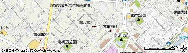 兵庫県加古川市加古川町(北在家)周辺の地図