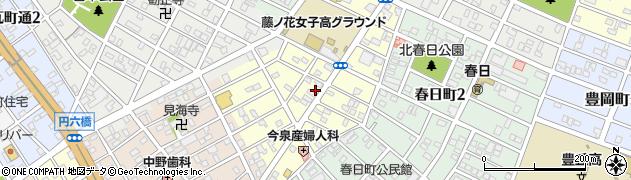 愛知県豊橋市仲ノ町周辺の地図