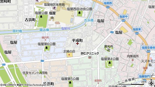 〒678-0247 兵庫県赤穂市平成町の地図