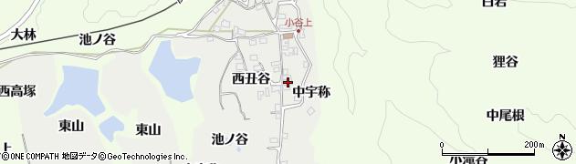 京都府木津川市加茂町大野(丑谷)周辺の地図