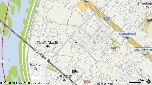 〒675-0034 兵庫県加古川市加古川町稲屋の地図