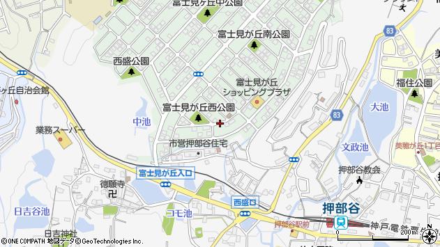 〒651-2214 兵庫県神戸市西区富士見が丘の地図