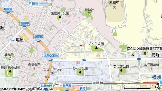 〒678-0206 兵庫県赤穂市宮前町の地図