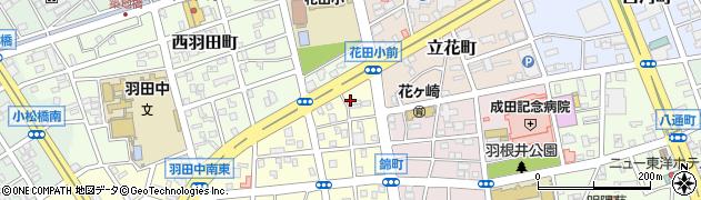うなぎの水口商店周辺の地図