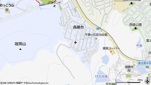 〒651-2201 兵庫県神戸市西区高雄台の地図
