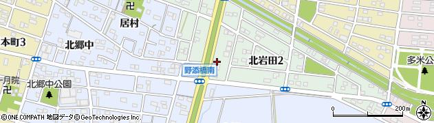 あかしろ周辺の地図