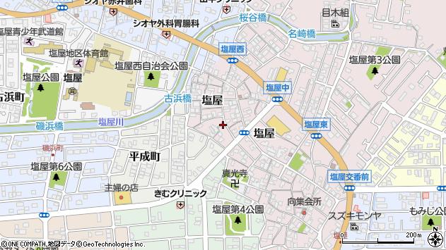 〒678-0201 兵庫県赤穂市塩屋の地図