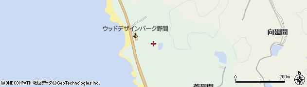愛知県美浜町(知多郡)小野浦(二ツ廻間)周辺の地図