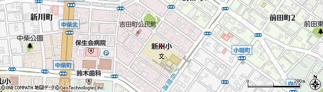 愛知県豊橋市前田中町周辺の地図