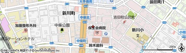 大己貴神社周辺の地図