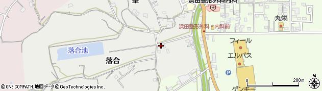 愛知県美浜町(知多郡)浦戸(落合)周辺の地図