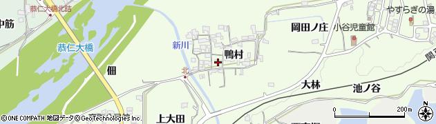 京都府木津川市加茂町北(鴨村)周辺の地図