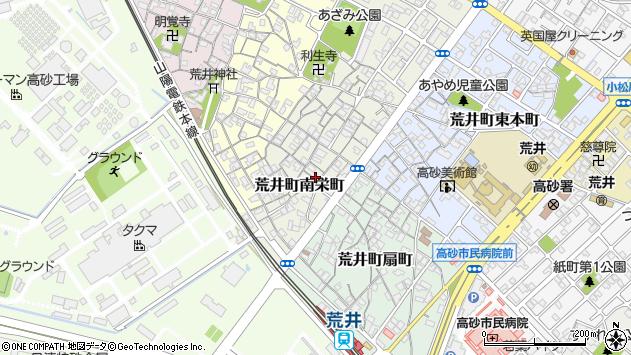 〒676-0006 兵庫県高砂市荒井町南栄町の地図
