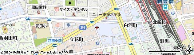 サーラプラザ豊橋周辺の地図