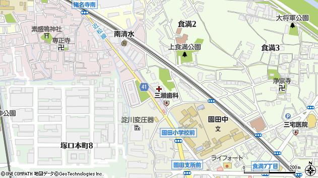 〒661-0982 兵庫県尼崎市食満の地図