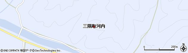 島根県浜田市三隅町河内周辺の地図