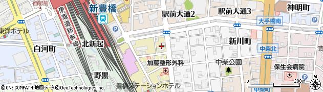 成瀬屋周辺の地図