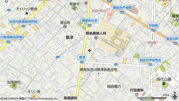 〒675-0039 兵庫県加古川市加古川町粟津の地図