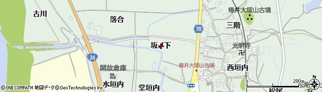 京都府木津川市山城町椿井(坂ノ下)周辺の地図