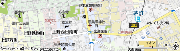 三重県伊賀市上野恵美須町周辺の地図