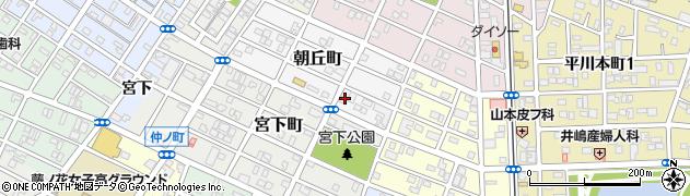 焼肉の大和周辺の地図