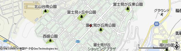 兵庫県神戸市西区富士見が丘周辺の地図