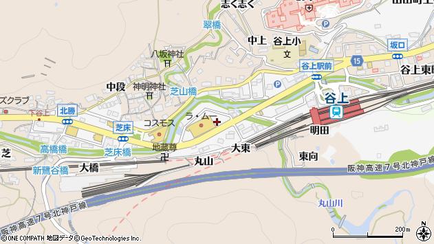 〒651-1246 兵庫県神戸市北区谷上西町の地図