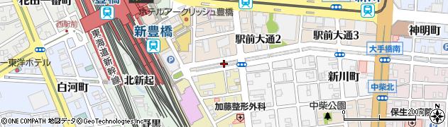 なすび亭周辺の地図