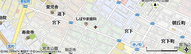 愛知県豊橋市池見町周辺の地図